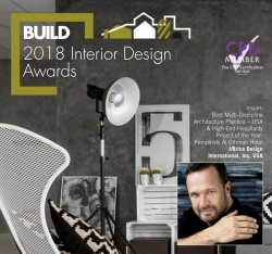Build Magazine Awards J/Brice Design International, Inc. Two Top Honors for 2018