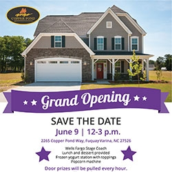 Copper Pond Grand Opening Celebration