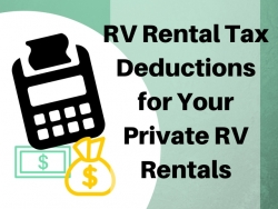 RV Loan Interest Can Still be Tax Deductible – New Video Shows How