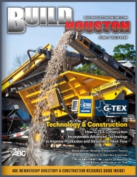 G-TEX Construction Lands on the Cover of Build Houston
