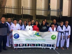 Camp Carter International Karate Association Pledge to Donate $1700 to Vallejo Sister City Association