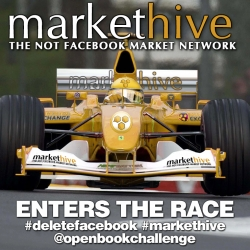 Markethive, Next Generation Market Network, Enters Open Book Challenge