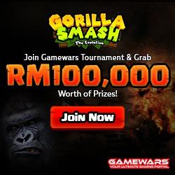 Gamewars Launches New Game Tournament - Gorilla Smash