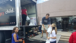 Charlotte Plumbing Company Partners with Local TV Station for Annual Food Drive