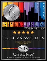 Dr. Ruiz & Associates Puts Patients First, Earns 6 Straight Spectrum Awards for Customer Satisfaction