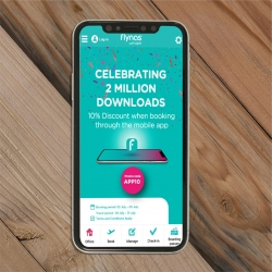 "From All the World More Than 2 Million Users for ""flynas"" Application"