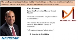 Curt Kramer, Navistar General Counsel Featured on The Law Department as a Business Enabler by Chuki Obiyo