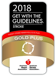 HCA Healthcare/HealthONE's The Medical Center of Aurora Receives Get With The Guidelines-Stroke Gold Plus Quality Achievement Award