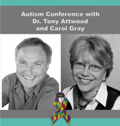 Unique Presentation with Dr. Tony Attwood and Carol Gray in Dallas, TX - October 17, 2018