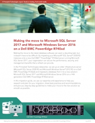 Principled Technologies Releases Migration Guide: Making the Move to Microsoft SQL Server 2017 and Microsoft Windows Server 2016 on a Dell EMC PowerEdge R740xd