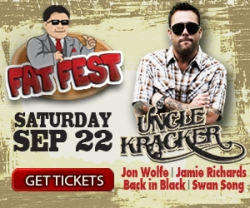 Uncle Kracker to Headline Fat Fest Celebrating 10 Years of Live Entertainment at Fat Daddy's Mansfield