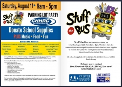 "CHHRC to Host the ""Stuff The Bus"" Parking Lot Party"