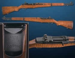Rifle of Famed Rifle Designer John Garand to Auction This September. Serial Number 1-Million. Likely the Finest M1 Garand You Have Ever Seen.