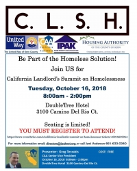 California Landlords Summit on Homelessness
