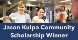 San Diego CEO, Jason Kulpa Announces Community Scholarship Winner