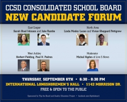 CCSD School Board New Candidate Forum