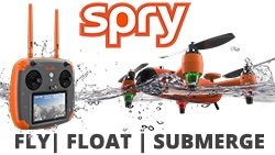 The Spry is the First Waterproof Drone That Submerges Under Water, Floats Like a Boat, and Flies in the Air