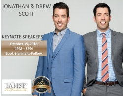 IAHSP Hosts the 2018 Home Staging Conference & EXPO Oct 18-20 Featuring the Scott Brothers - Jonathan & Drew - HGTV's