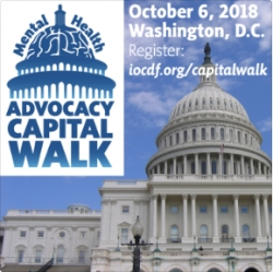 International OCD Foundation Announces the Mental Health Advocacy Capital Walk on October 6th to Kick-Off OCD Awareness Week