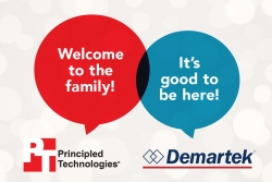 Principled Technologies Has Acquired Demartek, a Hands-on Technology Research and Analysis Company
