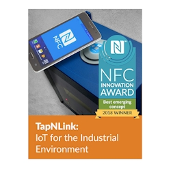 IoTize TapNLink Wins NFC Innovation Award for Best Emerging Concept