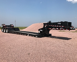 Load King Announces New 60-Ton Lowboy Trailer