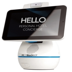 Hotellobot: The World's First Personal Hotel Concierge Robot