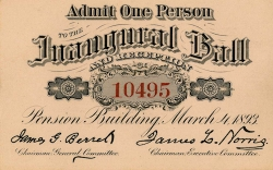 Grover Cleveland Inaugural Ball Celebrates New Jersey History on November 10th