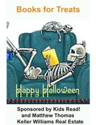 Kids READ! Announces 5th Annual Books for Treats Event