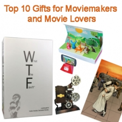 Top 10 Gifts for Moviemakers and Movie Lovers