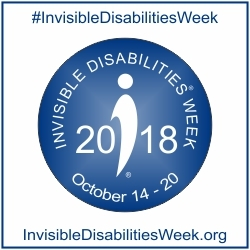 Celebrate 2018 Invisible Disabilities Week October 14-20