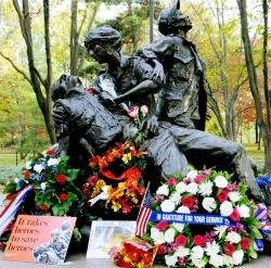 Vietnam Women's Memorial to Commemorate 25th Anniversary