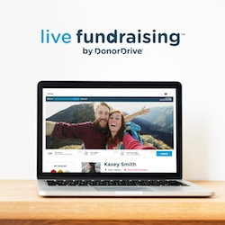 DonorDrive® Launches Live Fundraising™