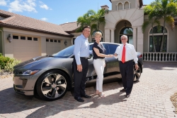 4-Time Jaguar Owner Takes Delivery from Crown Jaguar of First I-Pace in US