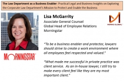 Lisa McGarrity, Morningstar Associate General Counsel Featured on The Law Department as a Business Enabler by Chuki Obiyo