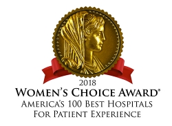 HealthONE's Presbyterian/St. Luke's Medical Center Receives the 2018 Women's Choice Award® as One of America's 100 Best Hospitals for Patient Experience