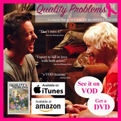 """Freestyle Digital Media Releases Award-Winning """"Quality Problems"""" on DVD During Breast Cancer Awareness Month"""