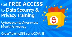 CyberTraining 365 Provides Free Online Training for Cyber Security Awareness Month