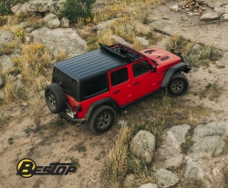 Bestop Launches Sunrider for Hardtop for All New Jeep®  Wrangler with a Bang