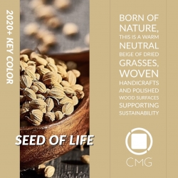 Color Marketing Group Announces 2020+ Asia Pacific Key Color – Seed of Life