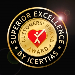 ICERTIAS Announces International Customers' Friend Award - Redesigned