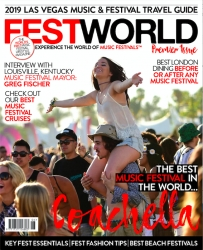 The World's First Music Festival Lifestyle Magazine to Launch March 9, 2019