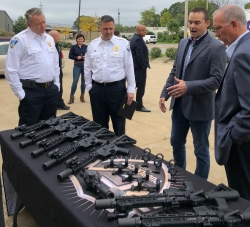 Rubber City Armory Donation to Akron Police Department Replaces Aging Equipment