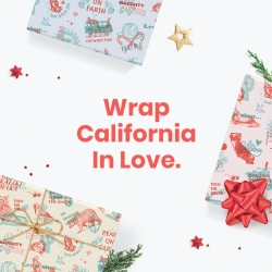 Creative Wildfire Relief Campaign; Wrap California in Love