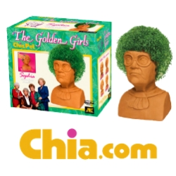 Give the Gift of Friendship with The Golden Girls Chia Pets; New Chia Pets in Stores Now for the Holiday Season