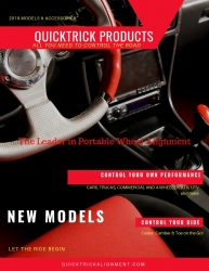 All-New QuickTrick 4th Gen Portable Wheel Alignment Models Announced