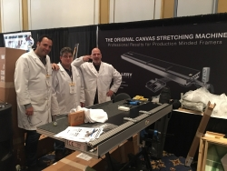 Canvas Stretching Machine LLC to Exhibit at West Coast Art & Frame Tradeshow in Las Vegas