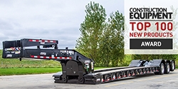 Load King 60-Ton Lowboy Trailer Receives 2018 Construction Equipment Magazine's Top 100 New Products Award