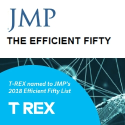 T-REX Named to JMP Securities' Prestigious Efficient Fifty List for the Second Year in a Row