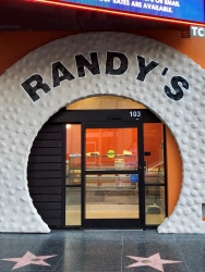 World Famous Randy's Donuts Opens on Hollywood Walk of Stars